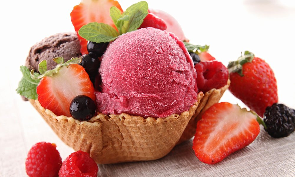 Steps to make Cranberry Ice Cream